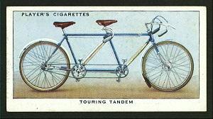 Touring tandem. Digital ID: 1195156. New York Public Library