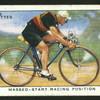 Massed-start racing position.