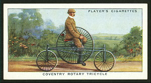 Coventry rotary tricycle. Digital ID: 1195182. New York Public Library