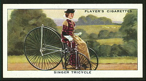 Singer tricycle. Digital ID: 1195184. New York Public Library