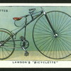 Lawson's bicyclette.