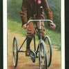 A notable tricyclist - F.T. Bidlake.
