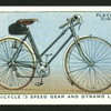 Lady's bicycle (3 speed gear and dynamo lighting).
