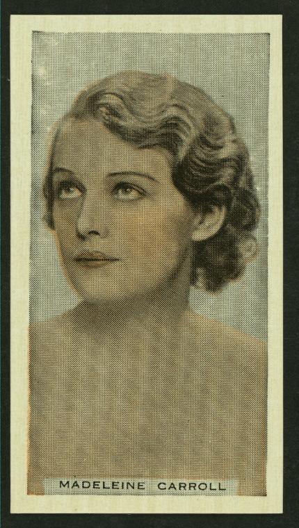 Madeleine Carroll.