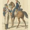 France. Besoldete Garde von Amsterdam. Infanterie und Cavalerie. (1812)
