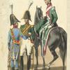 France. Gardes d'honneur à cheval (Groningue, Utrecht, [Lahaye?]). (1812)