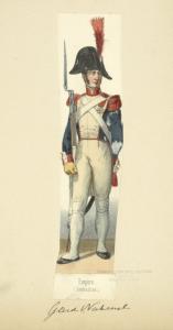 Holland (Domin. Française). Empire (Grenadier). Garde National. (1812)