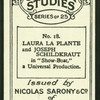 Laura La Plante & Joseph Schildkraut.