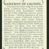 Cameron of Lochiel.
