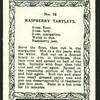 Raspberry tartlets.