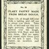 Flaky pastry.