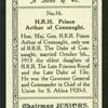 H.R.H. Prince Arthur of Connaught.
