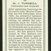 M.J. Turnbull.