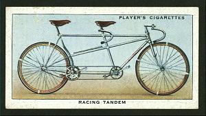 Racing tandem. Digital ID: 1196244. New York Public Library