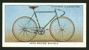 Path racing bicycle. Digital ID: 1196246. New York Public Library