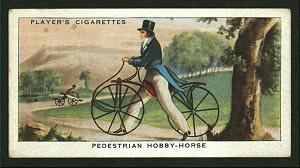 Pedestrian hobby-horse.
