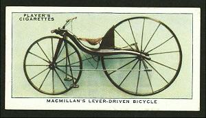 Macmillan's lever-driven bicyc... Digital ID: 1196264. New York Public Library