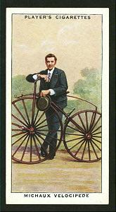 Michaux velocipede. Digital ID: 1196266. New York Public Library