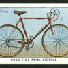 Road time trial bicycle.