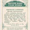 Gertrude Lawrence.
