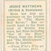 Jessie Matthews.