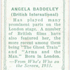 Angela Baddeley.