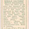 Donald Calthrop.