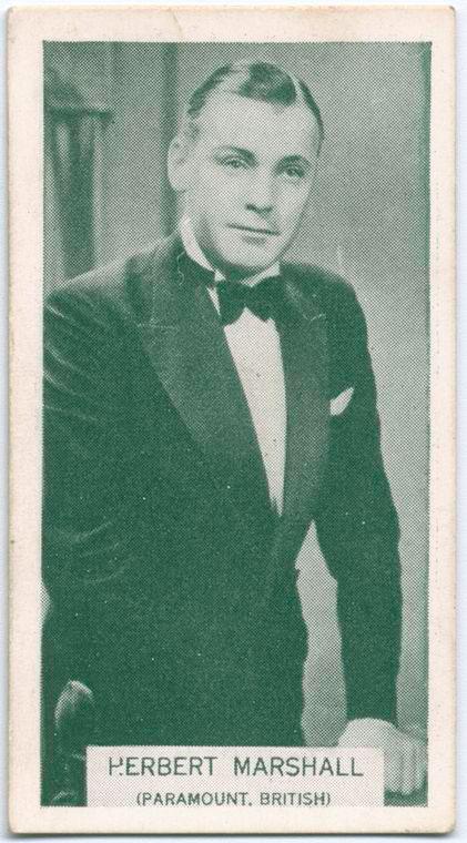 Herbert Marshall.