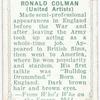 Ronald Colman.