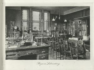 Physics laboratory.