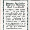 Sgt. Instr. S.D. Maltman.