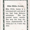 Miss Hilda James.