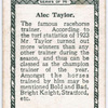 A. Taylor.