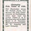 Robots Polo team.
