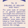Shilling of William and Mary.