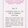 A citizen's wife of the time of Cromwell.