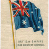Blue ensign of Australia.