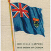 Blue ensign of Canada.