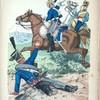 Niederlande. Dragoner vom leichten Drag.-Regt. No. 4 ; Karabinier vom Regt. No. 1; Husar. (1815)