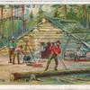 Lumbering in Canada.
