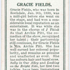 Gracie Fields.