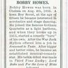 Bobby Howes.