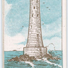 Eddystone lighthouse.