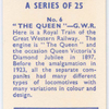 The Queen, G.W.R.