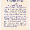 No. 1578, G.N.R.
