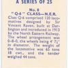 Q-6 class, N.E.R.