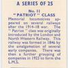 Patriot class.