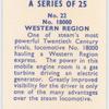 No. 18000 Western Region.