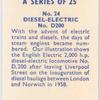 No. D200 diesel-electric.