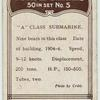 Submarine, A class, A2.